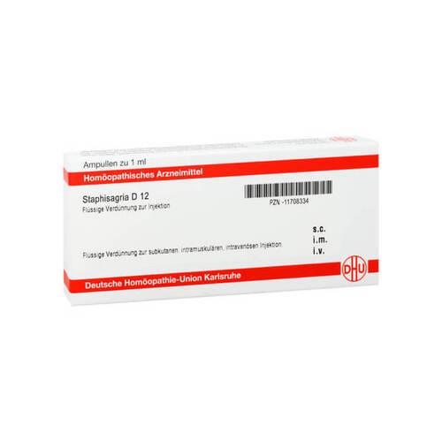 Staphisagria D 12 Ampullen - 1