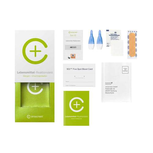 Cerascreen Lebensmittel-Reaktionstest - 2