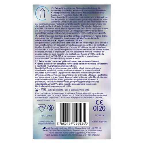 Durex Invisible Kondome - 2
