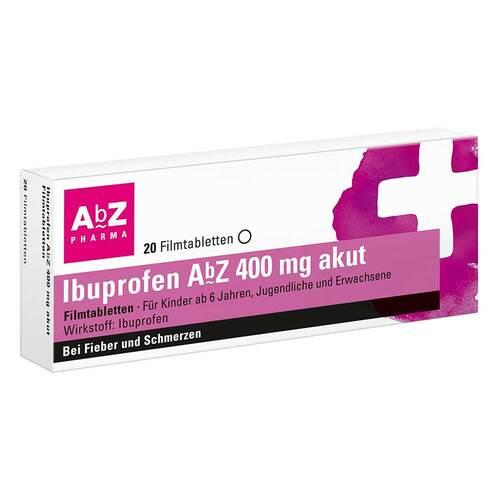Ibuprofen AbZ 400 mg akut Filmtabletten - 1