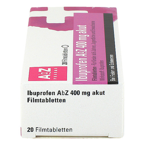 Ibuprofen AbZ 400 mg akut Filmtabletten - 4