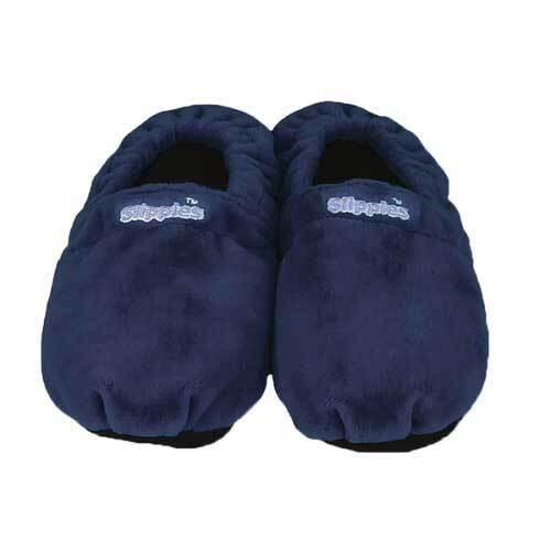 Warmies Slippies Schuhe Classic Größe 41 - 45 dunkelbl. - 1