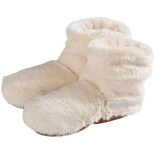 Warmies Slippies Boots Deluxe Größe 37 - 42 beige - 1