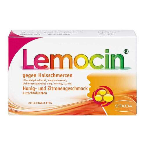 Locastad gegen Halsschmerzen Honig-Zitrone Lutschtabletten - 1