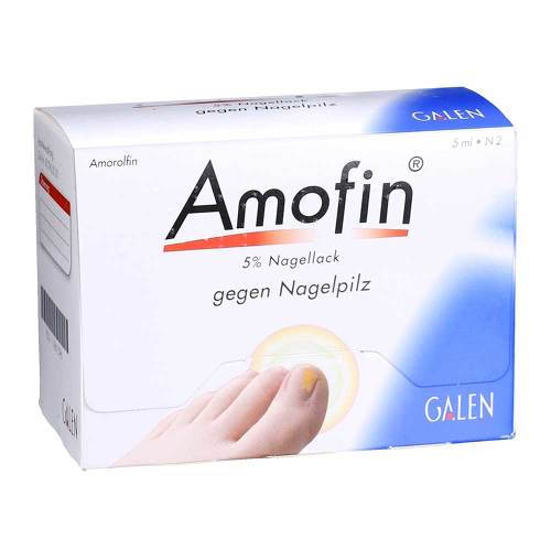 Amofin 5 % Nagellack - 1