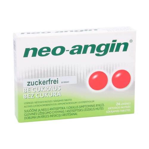 Neo Angin Halstabletten zuckerfrei - 1
