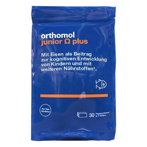 Orthomol Junior Omega plus Kaudragees - 1