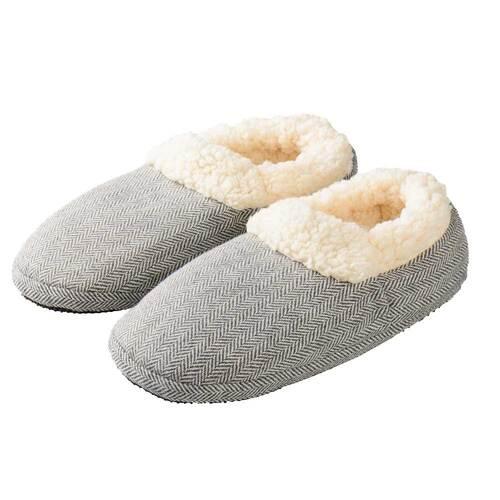 Warmies Slippies Comfort Größe 37 - 41 grau - 1
