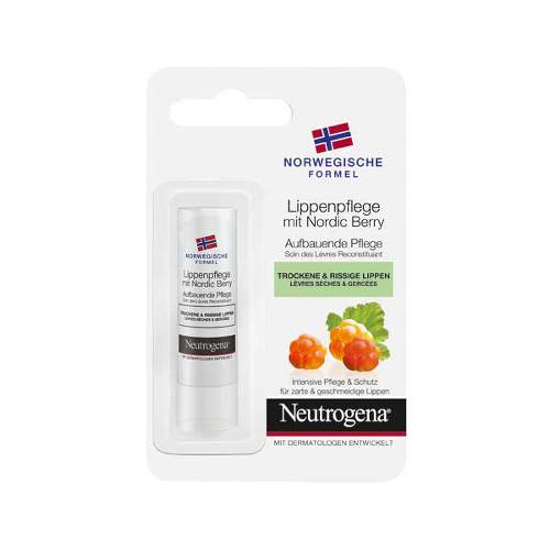 Neutrogena norweg.Formel Lippenpflege mit Nord.Berry - 1