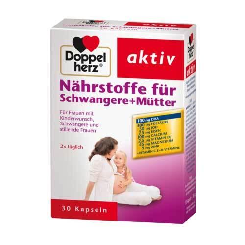 Doppelherz Nährstoffe für Schwangere + Mütter Kapseln  - 1