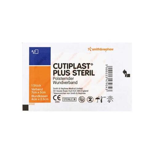 Cutiplast Plus steril 5x7 cm Verband - 1
