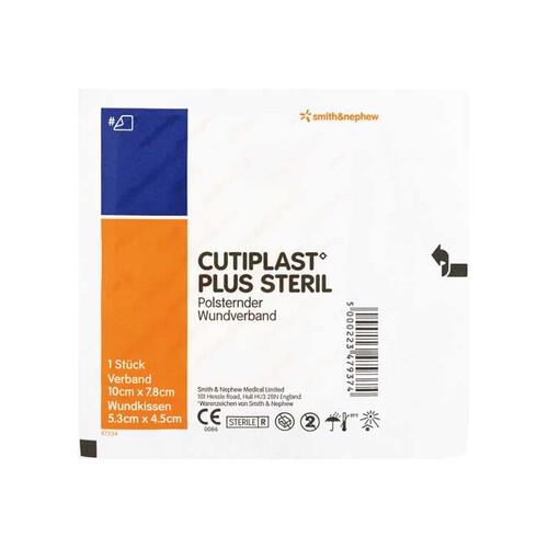 Cutiplast Plus steril 7,8x10 cm Verband - 1