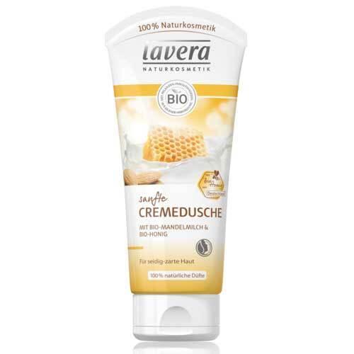Lavera Cremedusche Mandelmilch-Honig - 1
