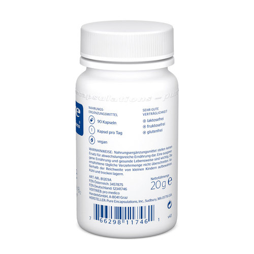 Pure Encapsulations B12 Folate Kapseln - 2