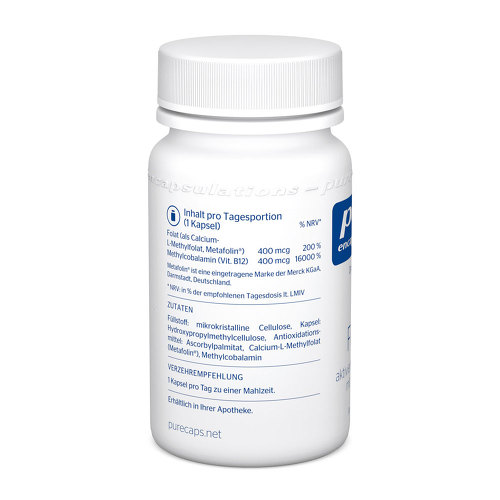 Pure Encapsulations B12 Folate Kapseln - 3