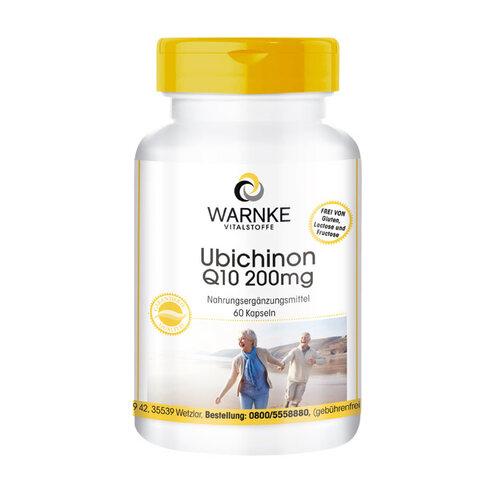 Ubichinon Q10 200 mg Kapseln - 1