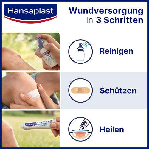 Hansaplast Fixierpflaster Sensitive 2,5 cmx5 m Schub - 2