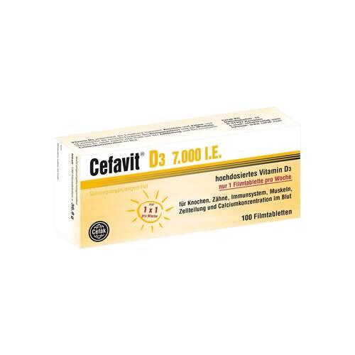 Cefavit D3 7.000 I.E. Filmtabletten - 1