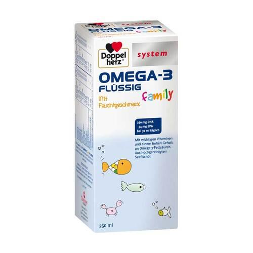 Doppelherz Omega-3 family flüssig system - 1