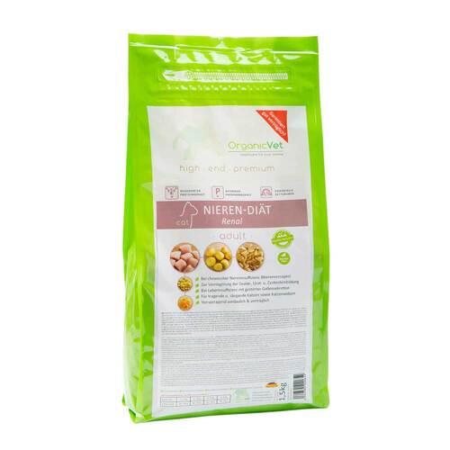 Organicvet Katze Trockennahrung Nieren-Diät - 1