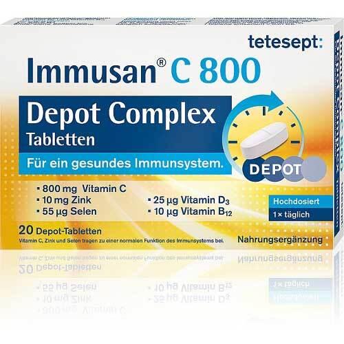 Tetesept Immusan C 800 Depot Complex Tabletten - 1