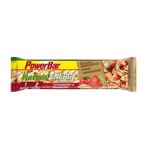 Powerbar Natural Energy Cereal Riegel Erdbeer-Cranberry - 1