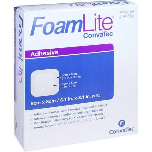 Foam Lite Convatec adhäsiv PU-Schaumverband 8x8 cm - 1
