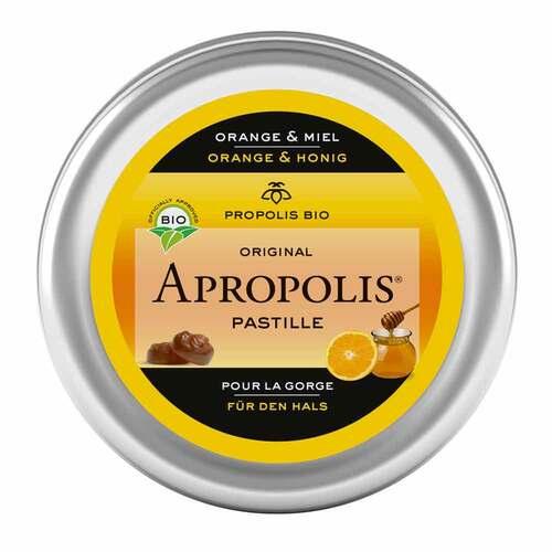 Propolis Apropolis Pastillen Orange Honig - 1