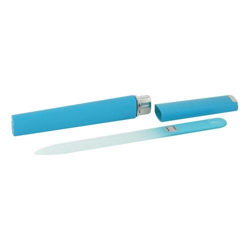 Glasfeile blau 14 cm Köcher blau - 1