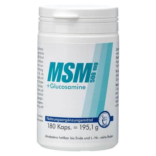 MSM 500 mg + Glucosamine Kapseln - 1