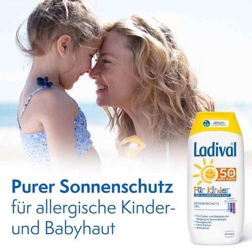 Ladival Kinder Sonnengel allergische Haut LSF 50+  - 2