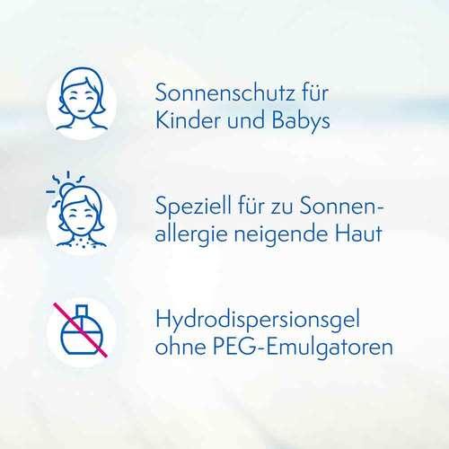 Ladival Kinder Sonnengel allergische Haut LSF 50+  - 3