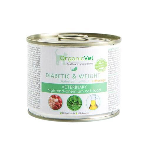 Organicvet Katze Nassnahrung diabetic & weight - 1