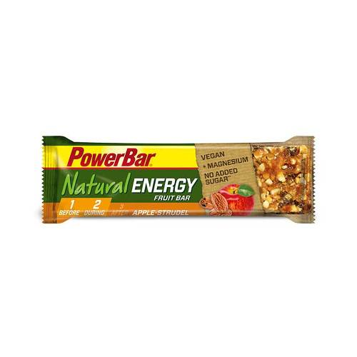 Powerbar Natural Energy Vegan Fruit Apple Strudel - 1