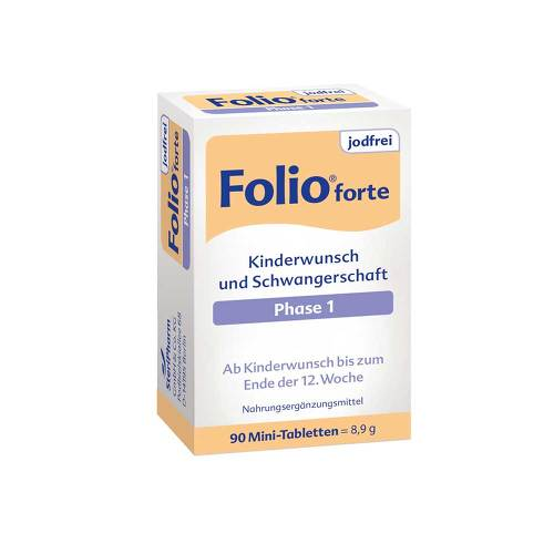 Folio 1 forte jodfrei Filmtabletten - 2