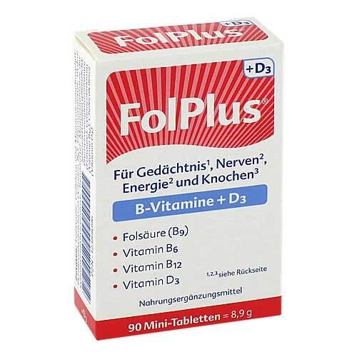 Folplus + D3 Tabletten - 1