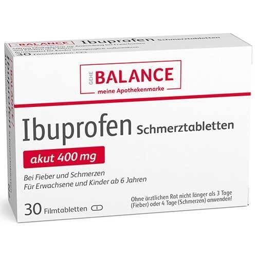 Ibuprofen Schmerztabletten Balance Filmtabletten - 1