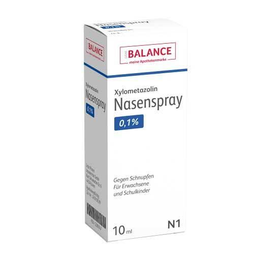 Xylometazolin Nasenspray 0,1% Balance - 1
