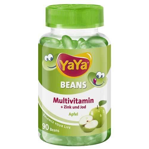 Yaya Beans Apfel Zink und Jod Kaudragees - 1