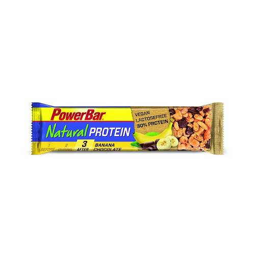 Powerbar Natural Protein vegan Banana Chocolate - 1