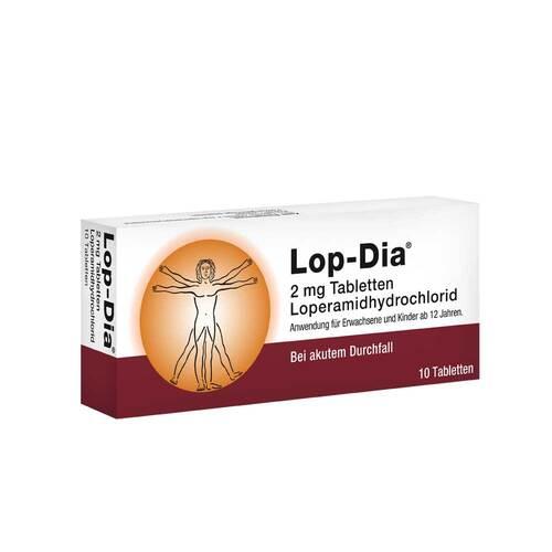 Lop-Dia 2 mg Tabletten - 1