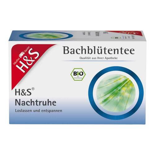 H&S Bio Bachblüten Nachtruhe Filterbeutel - 1