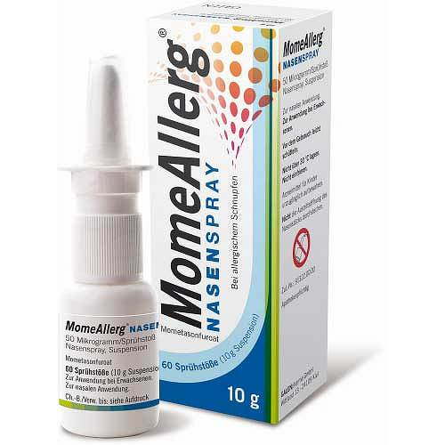 Momeallerg Nasenspray 50 µg / Sprühstoß 60 Sprühst. - 1