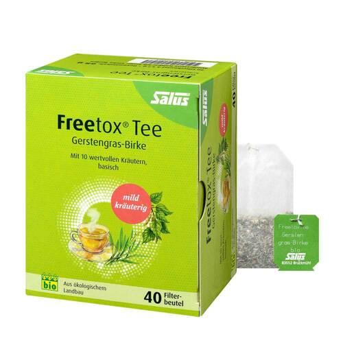Freetox Tee Gerstengras-Birke Kräutertee Bio Fbeutel  - 1
