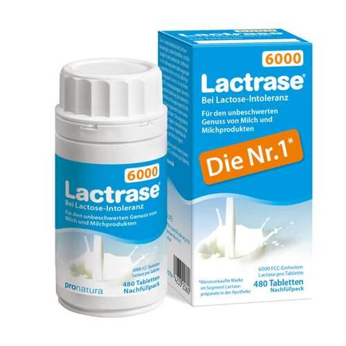 Lactrase 6.000 FCC Tabletten Klickspender Nachfüllpack - 1