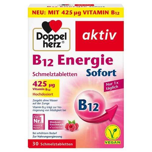Doppelherz B12 Energie Sofort Schmelztabletten - 1