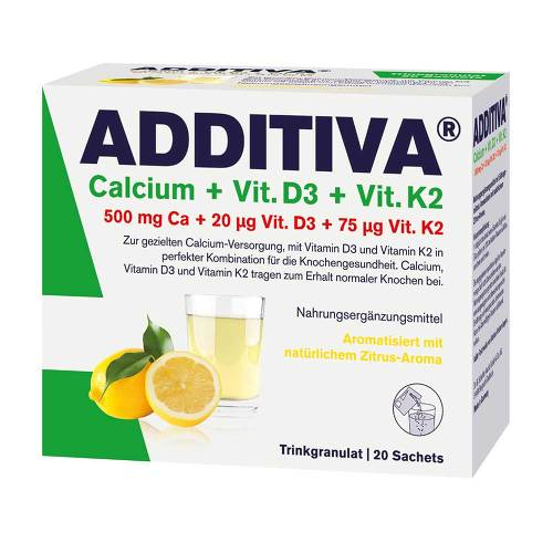 Additiva Calcium + D3 + K2 Granulat - 1