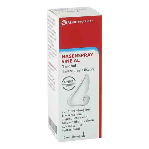 Nasenspray sine AL 1 mg / ml Nasenspray - 1