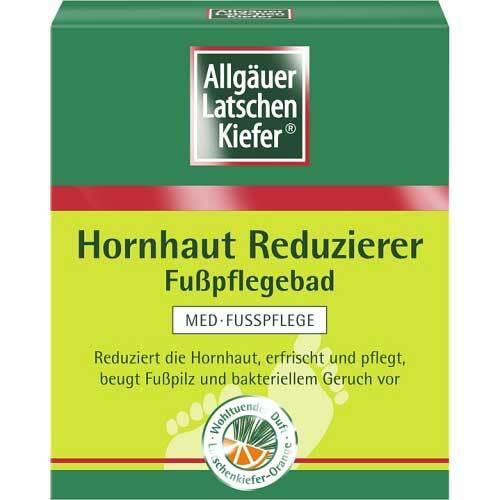 Allgäuer Latschenkiefer Hornhaut Reduzierer Fußpflegebad - 1