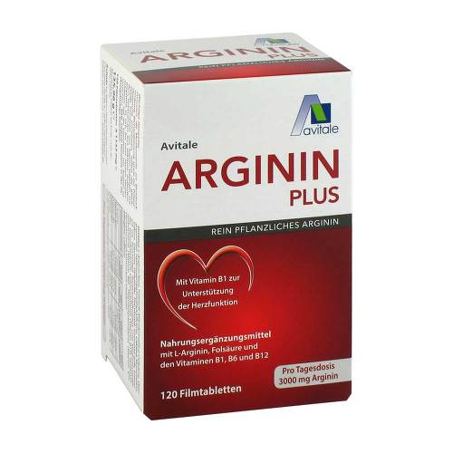 Arginin plus Vitamin B1 + B6 + B12 + Folsäure Filmtabletten  - 1